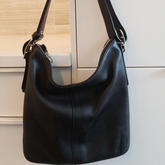 297f9008f1af best price coach small black bucket bag 6db9d 53a48